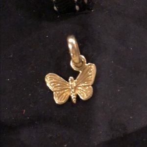 Links of London Jewelry - Links of London 18K Butterfly Charm & Chain 🦋